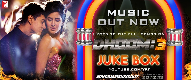 Dhoom 3 Jukebox