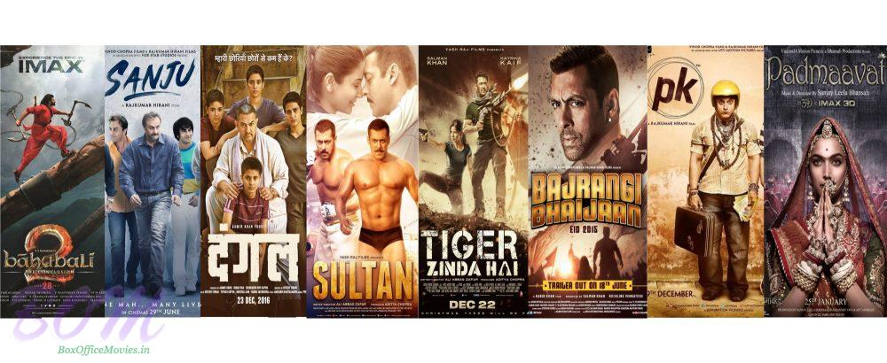 Bollywood 300 cr club movies and the achievers