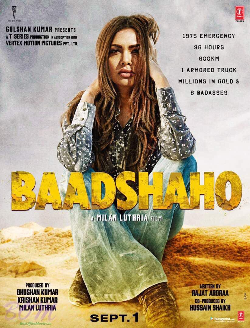 5th badass Esha Gupta from Baadshaho