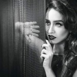 A Black and White elegant picture of Shraddha Kapoor