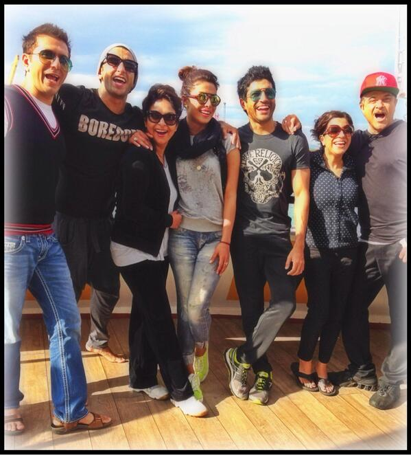 A Complete picture of team Dil Dhadakne Do