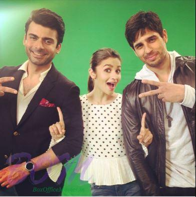 A Picture of Kapoor and Sons movie stars