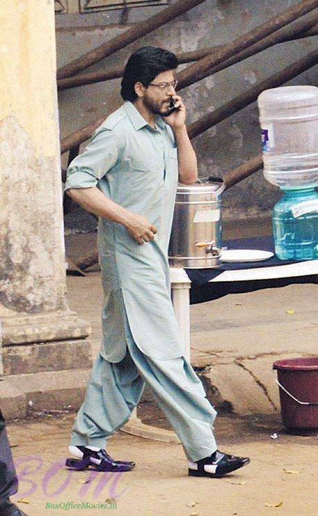 A Picture of Shahrukh Khan from Raees movie