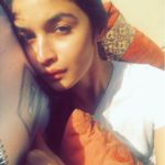 A cosy-ing up picture of Alia Bhatt