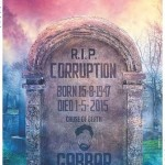 Cemetery poster of upcoming Gabbar Is Back