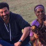 A cute laughing moment of Sunny Deol recently