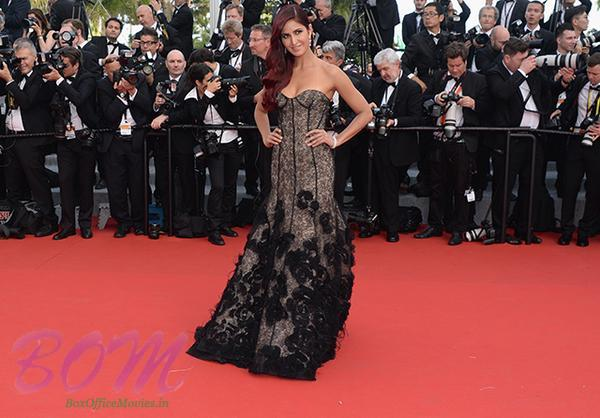 A gorgeous look of Katrina Kaif at Cannes 2015 recently
