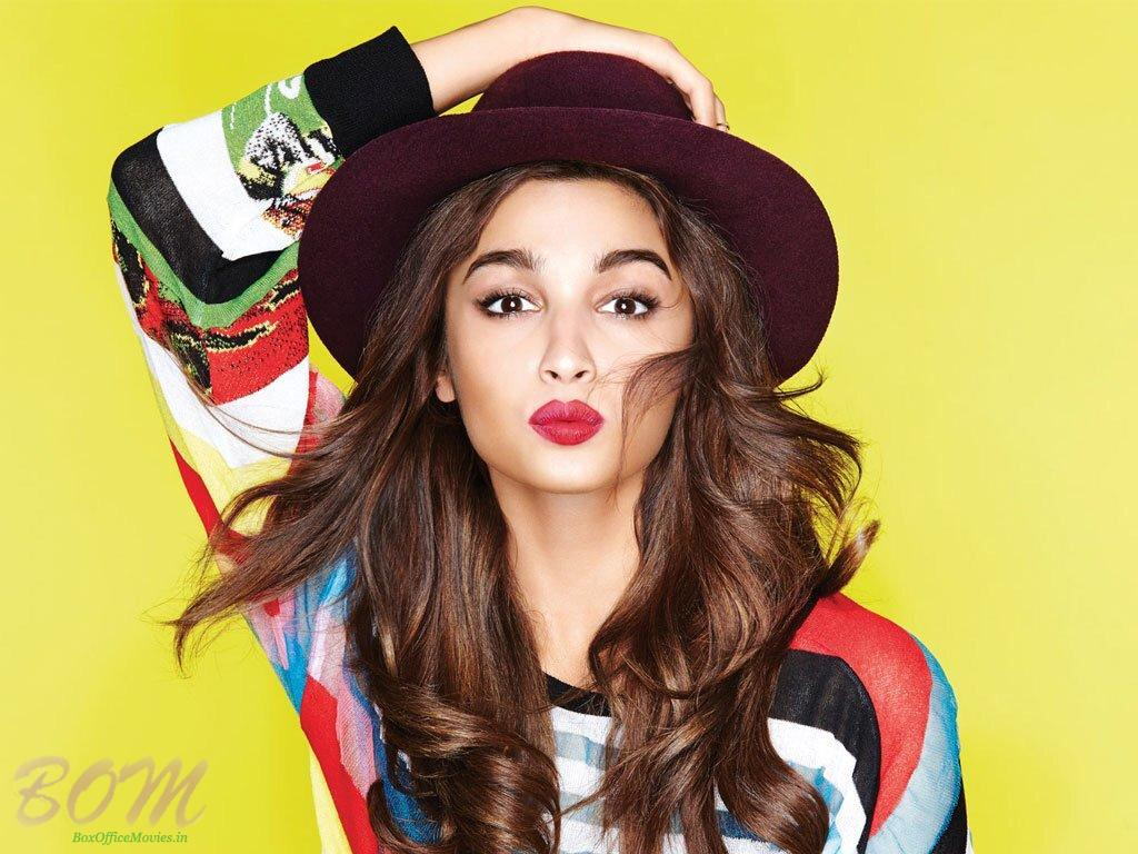 A lovely picture of Alia Bhatt