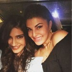 A lovely picture of Sonam Kapoor and Jacqueline Fernandez