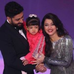 A perfect picture of Junior Bachchan and Family Aishwarya and Aaradhya Rai Bachchan.