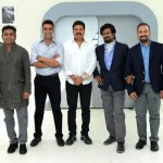 Akshay Kumar with Superstar Rajinikant and others