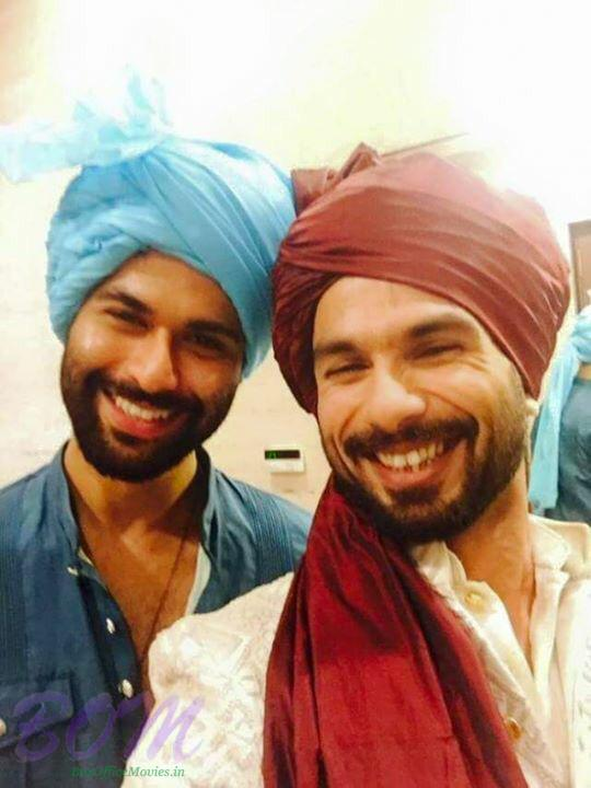 A selfie by Shahid kapoor on wedding day