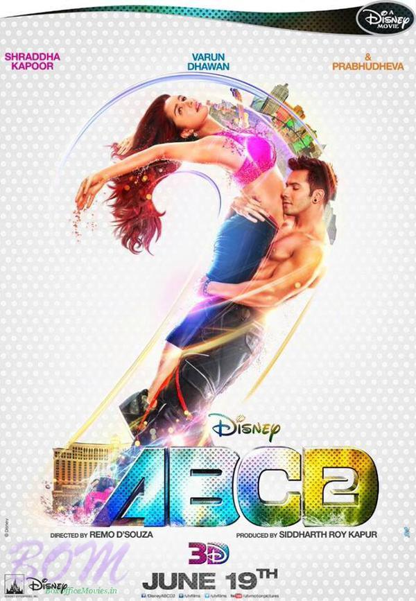 ABCD2 movie lovely poster starring Shraddha Kapoor and Varun Dhawan