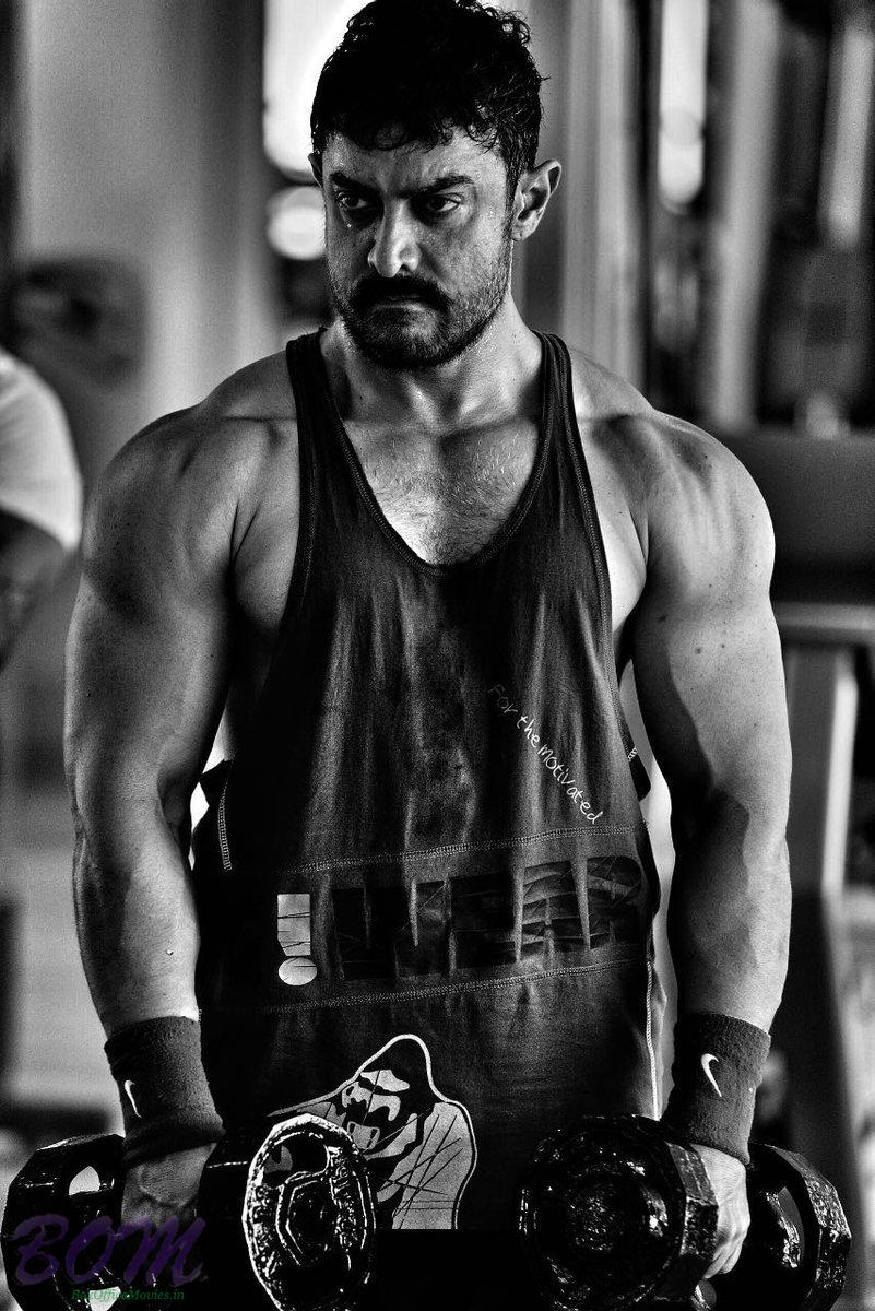 Aamir Khan first look as young Mahaveer in Dangal