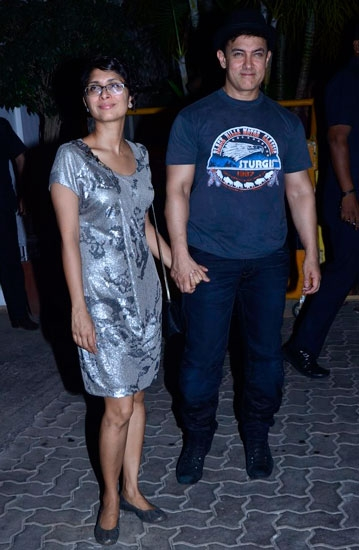 Aamir Khan with Kiran Rao latest picture