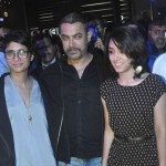Aamir Khan with wife and daughter
