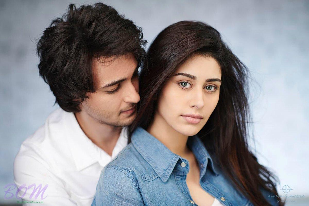 Aayush Sharma and Warina Hussain Loveratri look