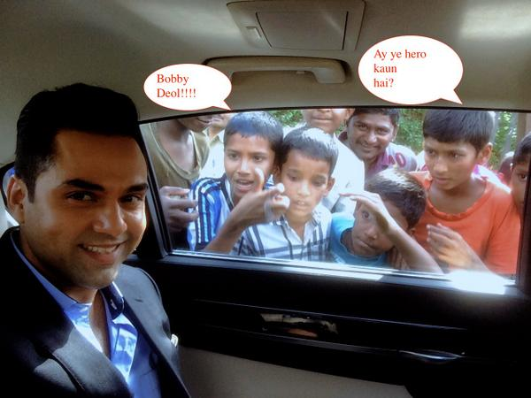 Abhay Deol - One of many comments hear while shooting in public