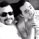 Abhay Deol With Tirru on SNAFU Movie set. Chintan Gandhi is Dialogue Writer of the movie