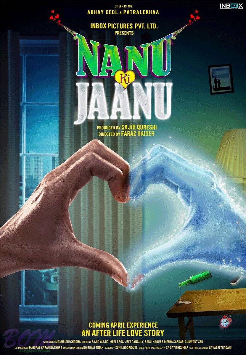 Abhay Deol and Patralekhaa starrer Nanu Ki Jaanu movie poster