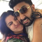 Abhishek Bachchan and Farah Khan cute picture