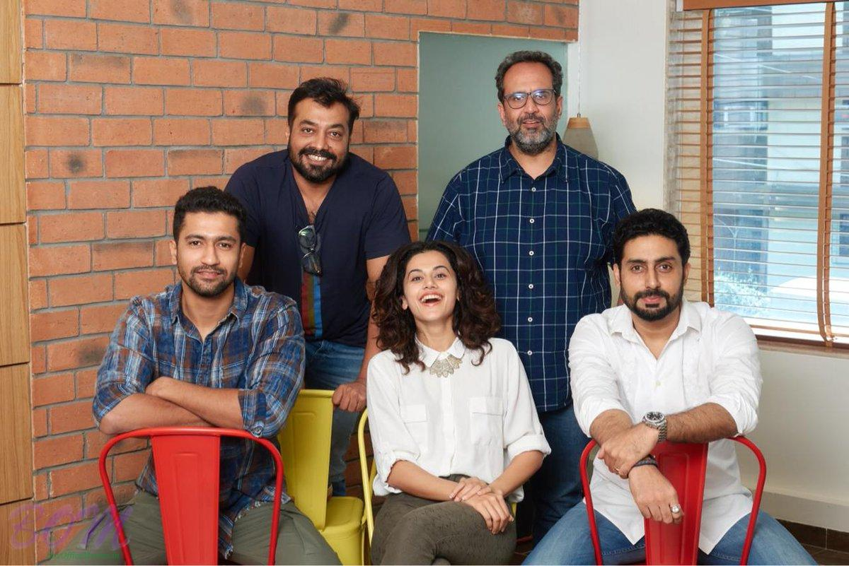 Abhishek Bachchan, Taapsee Pannu and Vicky Kaushal coming together in Manmarziyaan