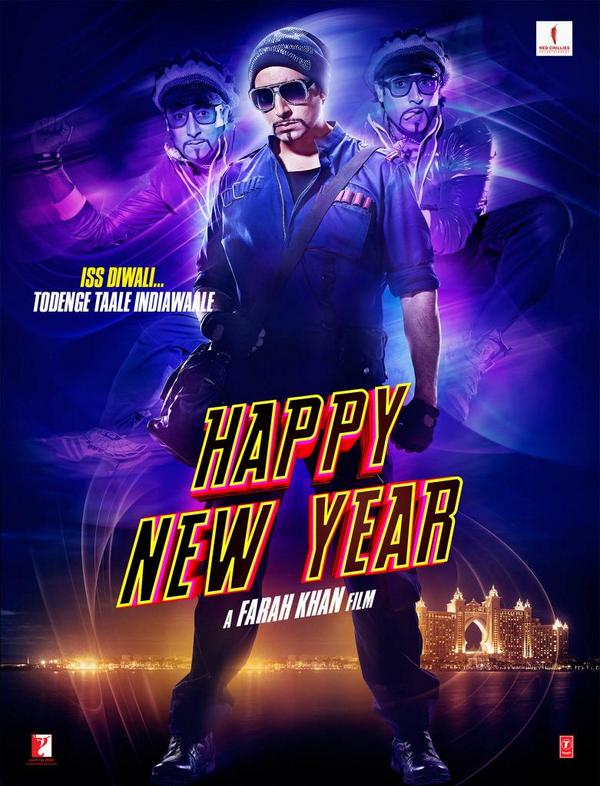 Abhishek Bachchan in Happy New Year