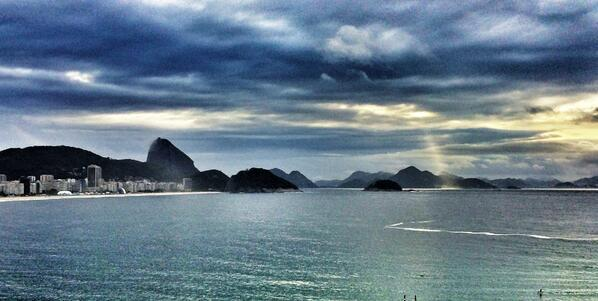 Abhishek Bachchan says ‏Good morning from Rio with this Picture