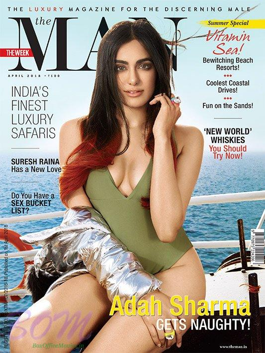 Adah Sharma looks stunning as cover girl for Man Mag April 2018 issue
