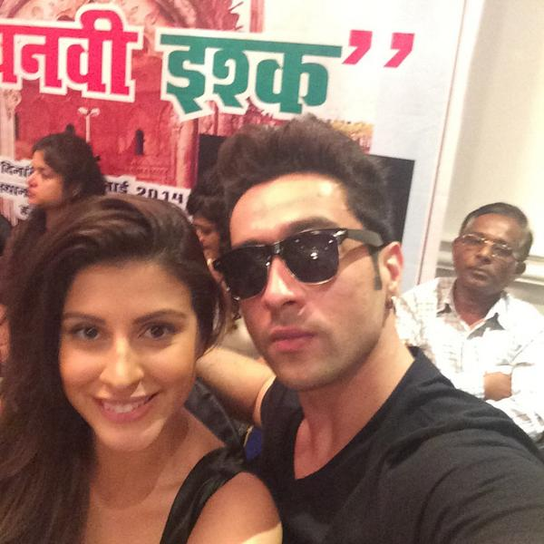 Adhyayan Suman is doing the shooting of new movie Lucknowi Ishq now days.