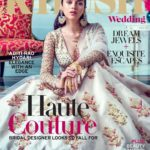 Bhoomi Aditi Rao Hydari looking gorgeous as cover girl in Khush wedding magazine issue.