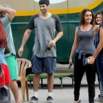 Aditya Roy Kapur and Shraddha Kapoor while shooting for Shaad Ali next OkJanu