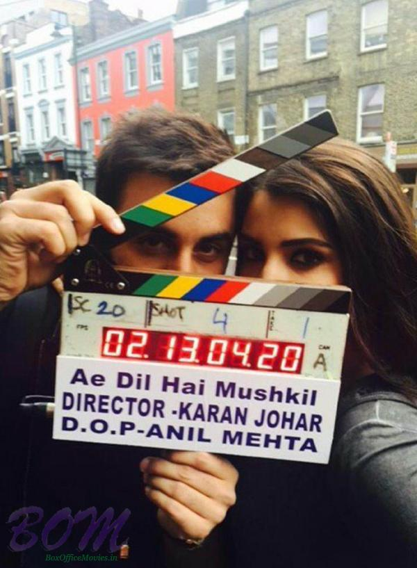 Ae Dil Hai Mushkil movie shooting begins
