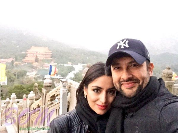 Aftab Shivdasani latest selfie on new year 2016