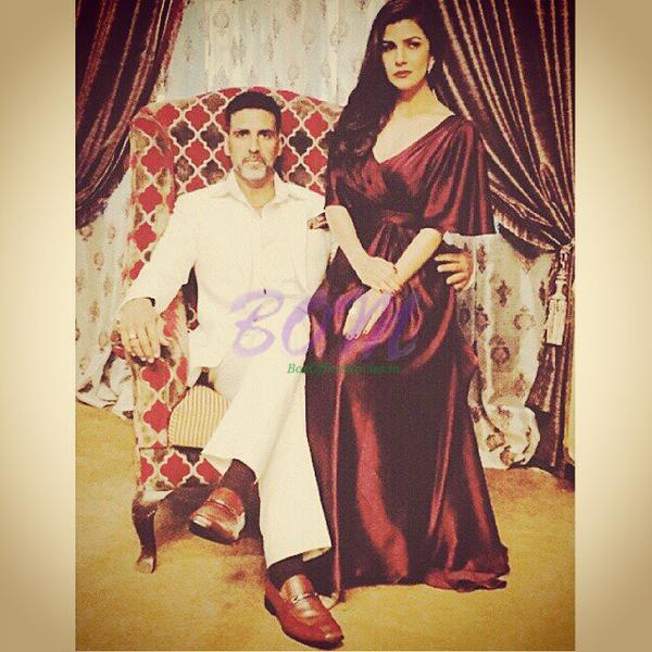 Akshay Kumar and Nimrat Kaur in Airlift movie First Look