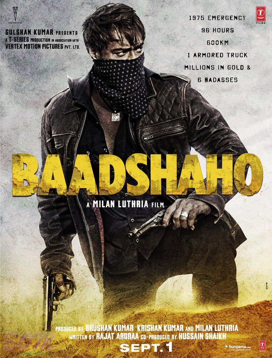 Ajay Devgn BAADSHAHO Movie poster