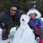 RAATEIN express deep bonding between Father Ajay Devgn and Daughter Abigail Eames