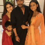 Ajay Devgn complete family picture