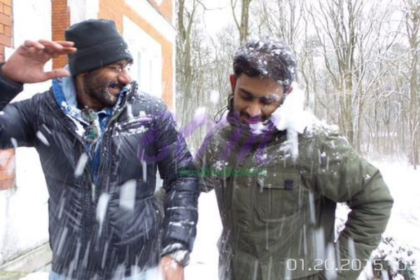 Ajay Devgn while shooting for Shivaay movie