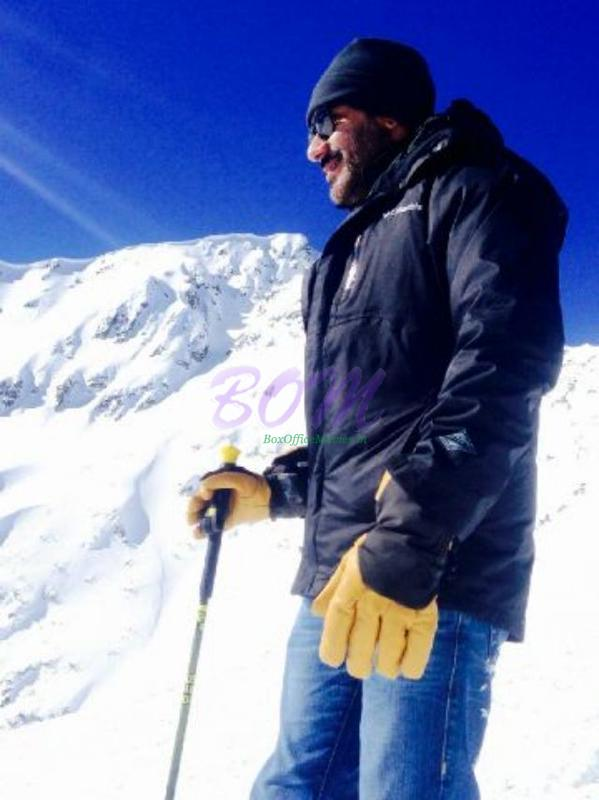 Ajay Devgn from atop of the Balkan Mountains - Om Nahah Shivaay