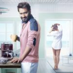 Ajay Devgn looking dashing with the cup of coffee