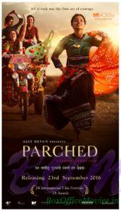 Ajay Devgn Presents PARCHED Movie Poster