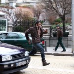 Ajay Devgn shooting an action sequence in Bulgaria for movie Shivaay
