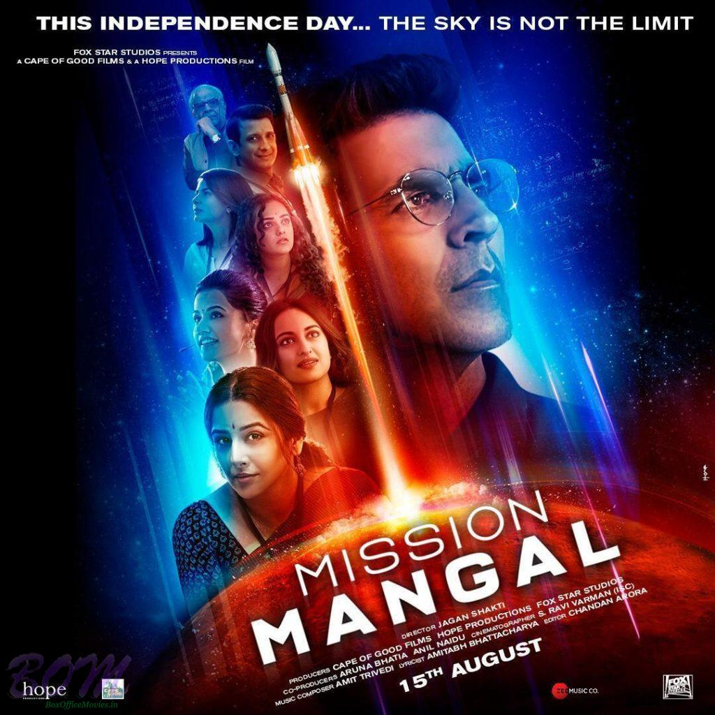 Mission Mangal to be new storm in Bollywood - Akshay, Vidya
