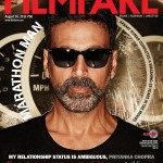 Akshay Kumar cover page boy for the Filmfare magazine Aug 2015 issue