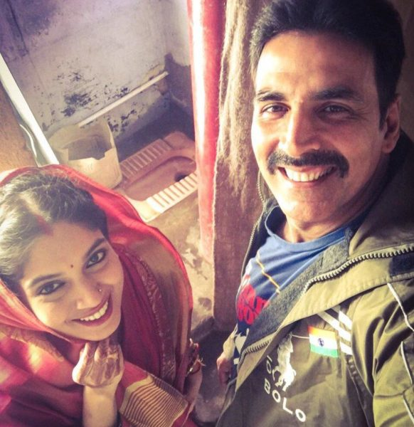 Akshay Kumar new hair style in Toilet Ek Prem Katha movie