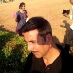 Akshay Kumar picture on the sets of Baby in Delhi