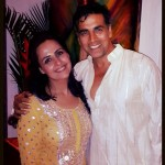 Akshay Kumar picture with my sister