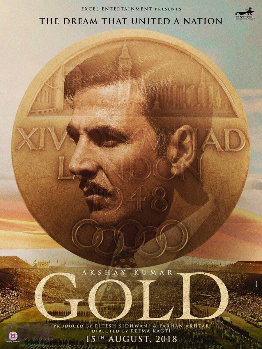 GOLD is already in the making and may release on 10th Aug 2018 as the week covers Independence day