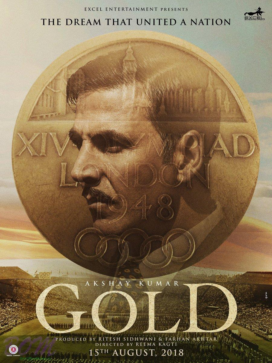 Akshay Kumar starrer Gold movie poster